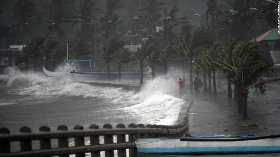 Fear And Anxiety During A Typhoon Shelby Abbott